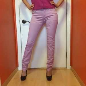 Insight denim collection colored skinny jeans